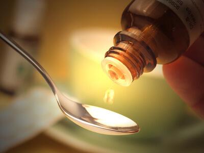 Apotheken bieten auch homeopatische Arzneimittel an.