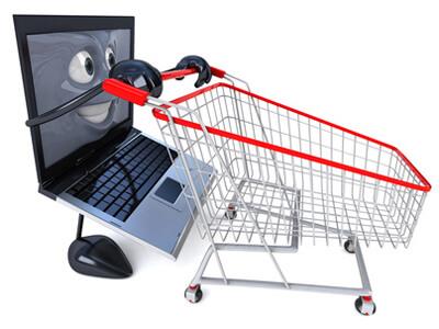 die Möglichkeit, einen Handyshop online zu besuchen