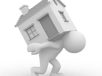 Da die Last für den Hausbesitzer zu schwer wird wendet er sich an die Hausverwaltung.
