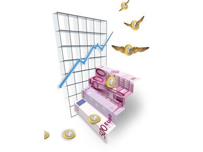 Durch den Finanzberater kann das Vermögen vermehrt werden.