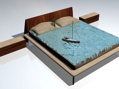Wasserbetten / Wasserbett
